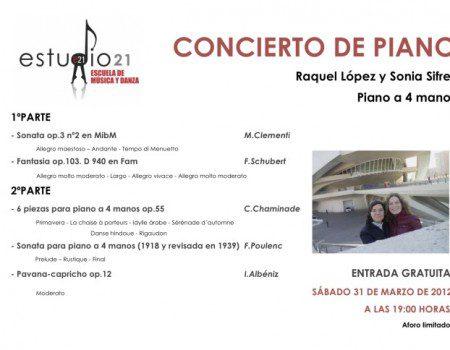 CONCIERTO DE PIANO (Piano a 4 manos)